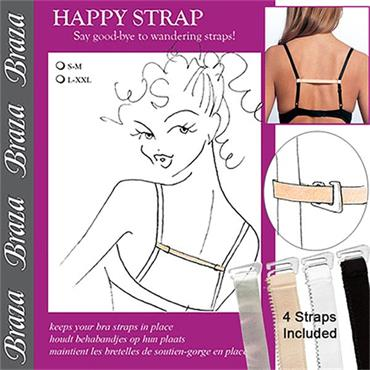 Happy Strap - Say Goodbye to wandering bra straps!