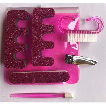 Glitter Manicure Set - 6 Piece