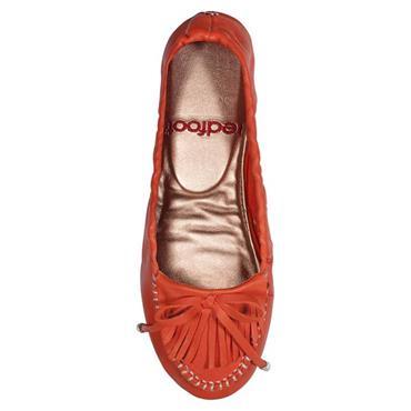 Redfoot Madeline Orange Loafer