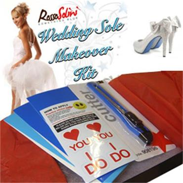 Wedding Sole Makeover Kit x 1 Pair