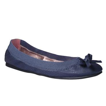 Redfoot Simone Folding Blue Flat Shoes