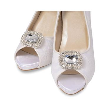 Paris Crystal Shoe Clips