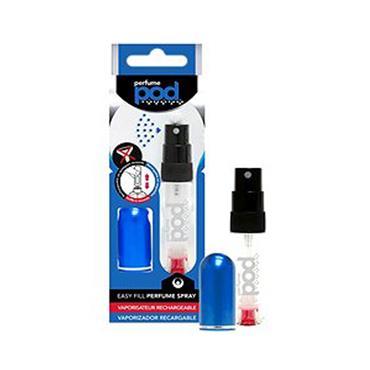 Perfume Pod Blue - The Clear Refillable Perfume Atomiser