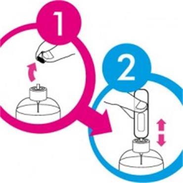 Perfume Pod Purple - The Clear Refillable Perfume Atomiser