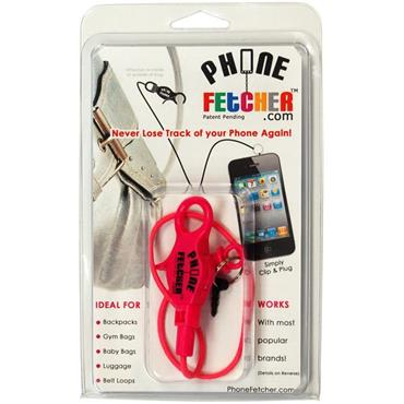 PhoneFetcher Bungee Pink
