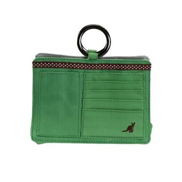 Pouchee Cotton Apple Green Handbag Organiser