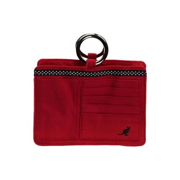 Pouchee Cotton Red Handbag Organiser