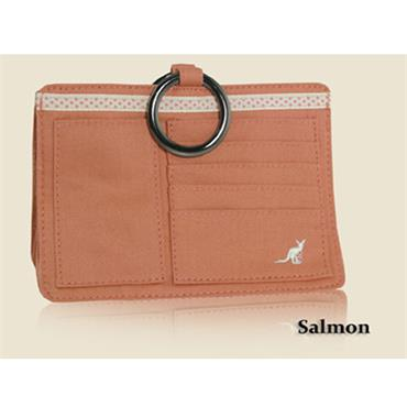 Pouchee Cotton Salmon Handbag Organiser
