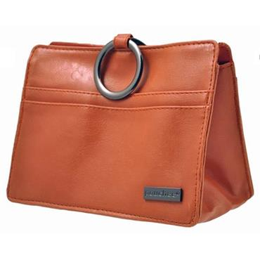 Pouchee MOD Faux Leather-Burnt Orange Handbag Organiser