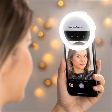 Instahoop Selfie Ring Light Rechargeable