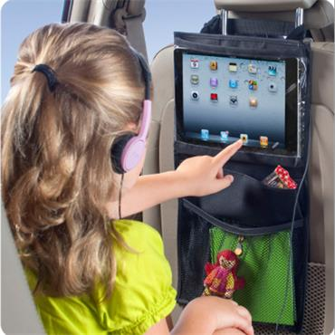 iPad and Tablet Seat Organizer