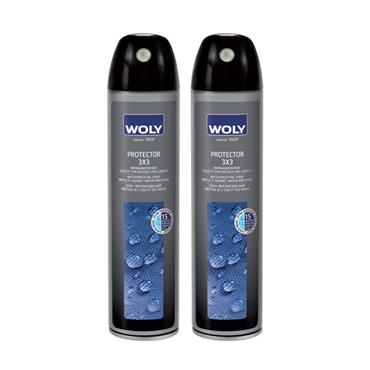 Woly 3x3 Waterproof Shoe Protector Spray Neutral - Suede & nubuck leathers