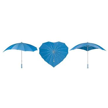 Sky Blue Heart Umbrella - Shipping to Ireland & UK Only