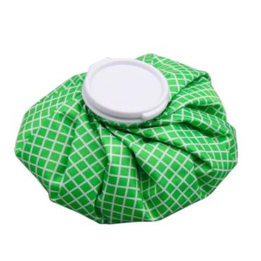 Vintage Style Ice Bag - Green Stars Large