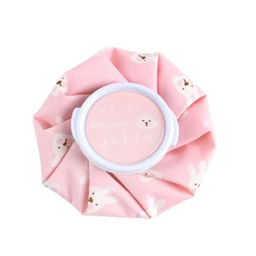 Vintage Style Ice Bag - Pink Teddy Small