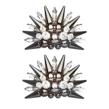 Spiked Star Shoe Clips