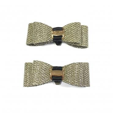 Gold Sparkle Bow