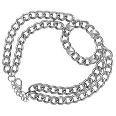 Oval Buckle Boot Chain