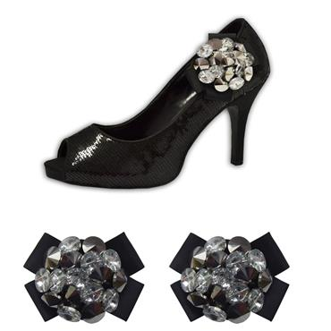 Incredible Black Shoe Clips