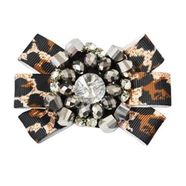 Leopard Print shoe clips