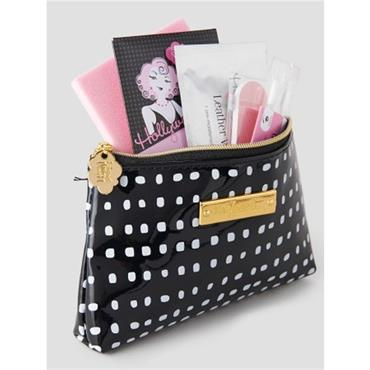 Stylette Beauty Kit - Black & White Polka Dot