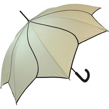 Classic Beige Swirl Umbrella - Shipping to Ireland Only
