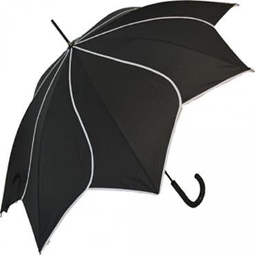 Classic Black Swirl Umbrella - Shipping to Ireland Only