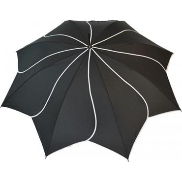 Classic Black Swirl Umbrella - Shipping to Ireland Only