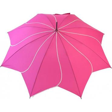 Classic Pink Swirl Umbrella - Shipping to Ireland Only