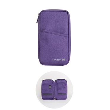 Travelus Travel Wallet - Purple
