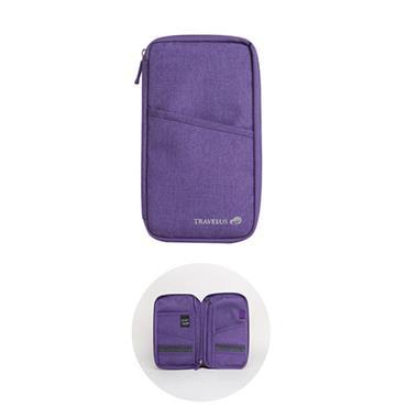 Travelus Travel Wallet - Purple