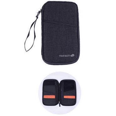 Travelus Travel Wallet - Black