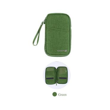 Travelus Travel Wallet - Green
