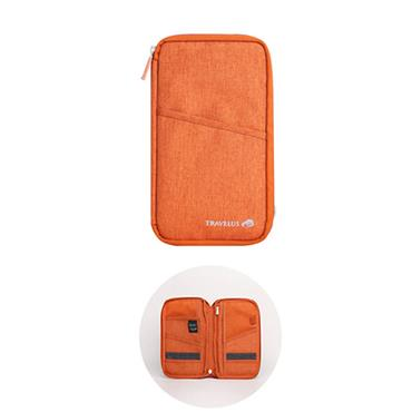 Travelus Travel Wallet - Orange