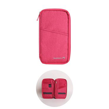 Travelus Travel Wallet - Pink
