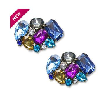 Vienna Shoe Clips Blue