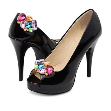Vienna Shoe Clips Pink