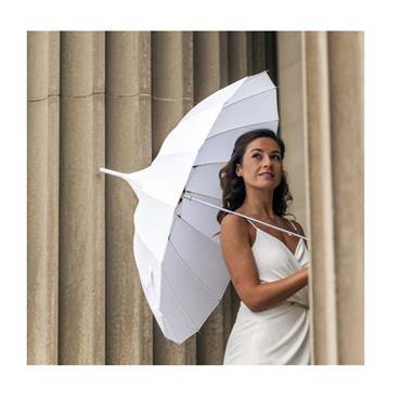 White Pagoda Umbrella  - Shipping to Ireland Only