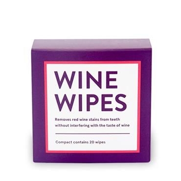 Wine Wipes Compact with 20 Wipes