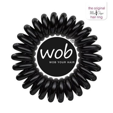 Miss Oops Black WOB - traceless ring for your hair