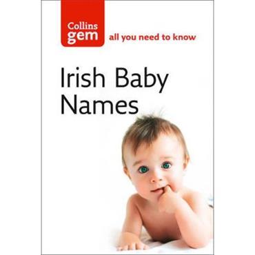 Julia Cresswell Collins Gem: Irish Baby Names