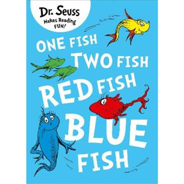Dr Seuss One Fish, Two Fish, Red Fish, Blue Fish