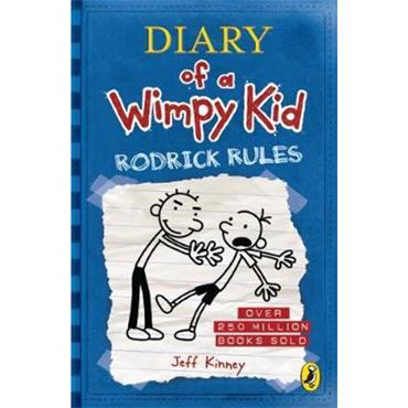 Jeff Kinney Diary of a Wimpy Kid: Rodrick Rules (Book 2)
