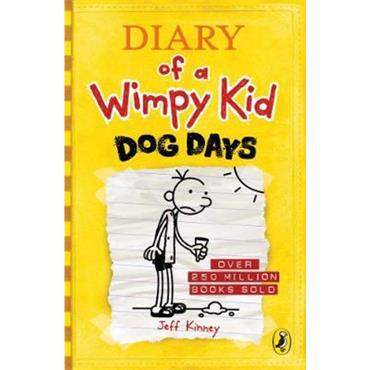 Jeff Kinney Diary of a Wimpy Kid: Dog Days (Book 4)