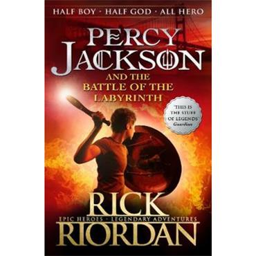 Rick Riordan Percy Jackson and the Battle of the Labyrinth (Book 4)
