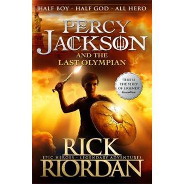 Rick Riordan Percy Jackson and the Last Olympian (Book 5)