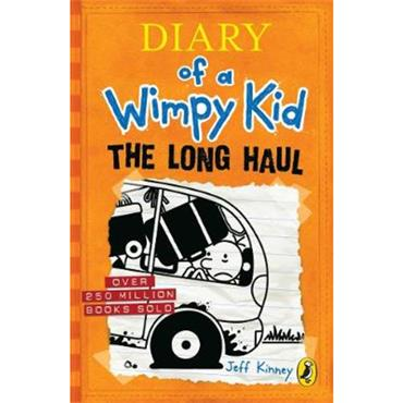 Jeff Kinney Diary of a Wimpy Kid: The Long Haul (Book 9)