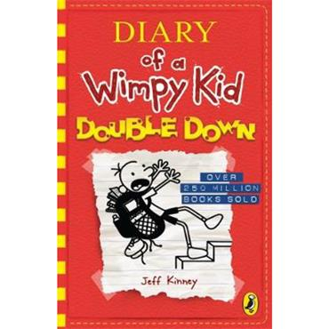 Jeff Kinney Diary of a Wimpy Kid: Double Down (Book 11)