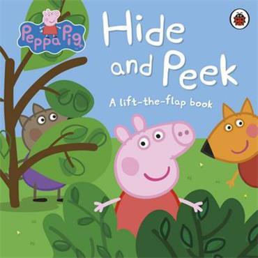 Peppa Pig Hide and Peek: A Lift-the-Flap Book