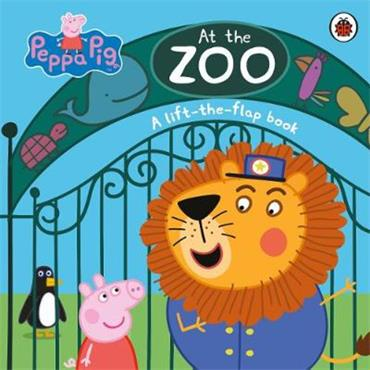 Peppa Pig At the Zoo: A Lift-the-Flap Book